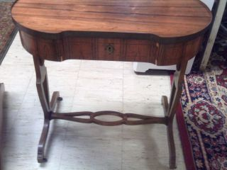 Antique Baker Furniture Company Desk Small Writing Desk