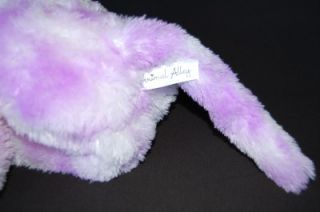 NWT Toys R Us ANIMAL ALLEY Plush Monkey Velcro Hands 30 Purple