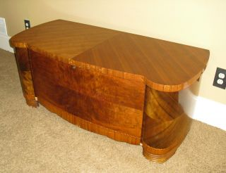 Antique Vintage Art Deco 1939 Lane Cedar Hope Chest Sweetheart