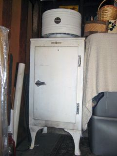 Vintage Antique 1934 GE Monitor Top Refrigerator CA 1 B16