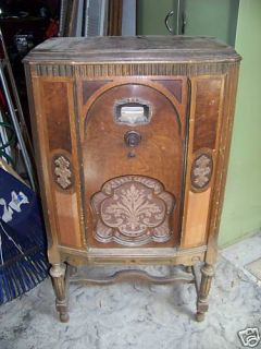 ANTIQUE 1931 BRUNSWICK CONSOLE RADIO   MODEL #15