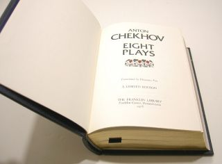 Franklin Library 100 Greatest Plays of Anton Chekhov