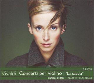 VIVALDI ANTONIO VIVALDI CONCERTI PER VIOLINI I LA CACCIA NEW CD