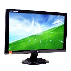 24 AOC 2436VWH 1080p Widescreen LCD VGA HDMI Monitor