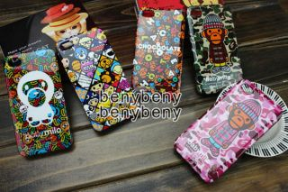 Baby Milo A Bathing Ape Case Hard Shell for iPhone4 4S