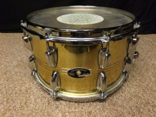12 Brass Snare Drum Carmine Appice Owned COA Collectors Item