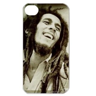 Bob Marley Apple iPhone 4 4S 4G Cell Phone Cover Hard Case