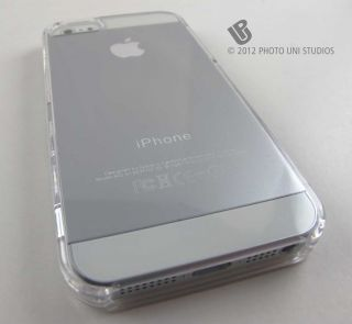 thru Hard Shell Case Cover for Apple iPhone 5 Phone Accessory