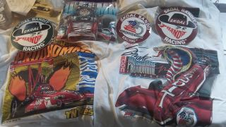 Don Prudhomme unopened t shirts stickers hat autographed e t 80s 90s