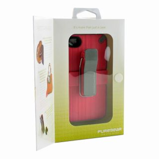 Support System Clip Case Cover for Apple iPhone 4S 4   Pink