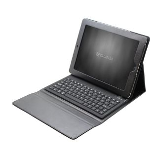 Folio Leather Case Bluetooth Keyboard for Apple iPad 2 iPad 3 New iPad