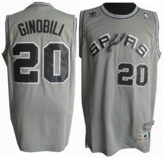 San Antonio Spurs Manu Ginobili Jersey Sz M Sewn