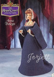 Anne Boleyn Royal Court Collection Annies Crochet
