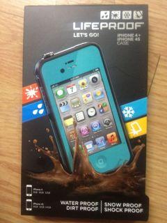 Aqua Case This is 100 Lifeproof Brand iPhone case 4 4S Life proof case