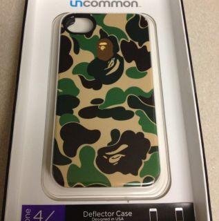iPhone 4 4S Deflection Case Camo BNIP  Bathing Ape