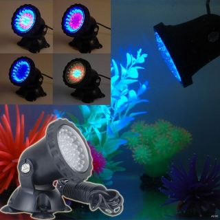 Garden Submersible Aquarium Spotlight Pond LED Light