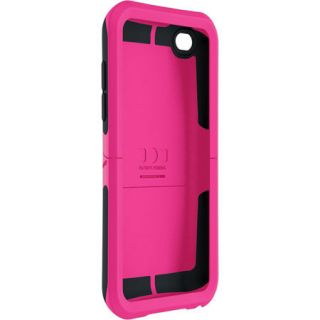 Reflex Case for Apple iPod Touch 4 4th Gen Hot Pink Black
