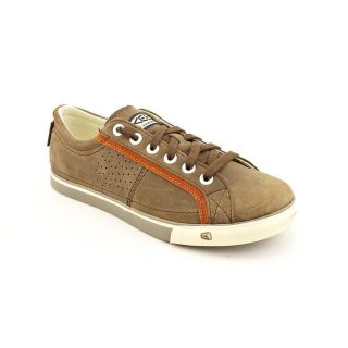 Keen Arcata Leather Mens Size 14 Brown Full Grain Leather Sneakers