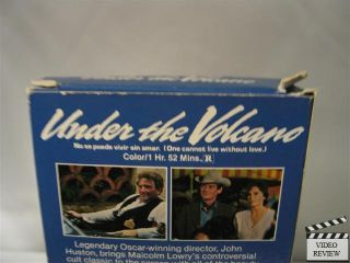 Under The Volcano VHS Albert Finney Jacqueline Bisset
