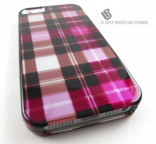 Shell Snap on Case Cover for Apple iPhone 5 Phone Accessory