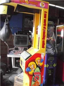 EQ Punch The Ultimate Boxing Punching Speed Bag Arcade Game WOW