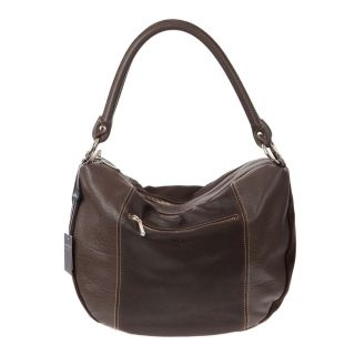 Arcadia Italian Made Natural Brown Leather Authentic Designer Hobo Bag