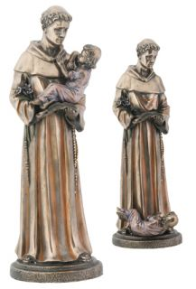 shipping policies large saint st anthony statue figurine decoration