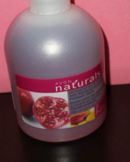 Avon Naturals Antibacterial Hand Soap Pomegtanate Mango