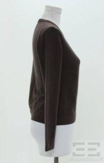 Malo Two Piece Purple Aqua Cashmere Sweater Set Size 40