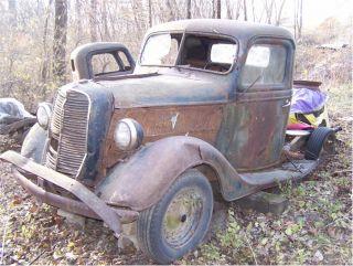 Vintage Antique Ford 1936 1937 Pickup Truck Rat Rod Rebuilder Parts