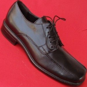 Used Mens Axcess Arlo Black Lace Up Oxfords Casual Dress Office