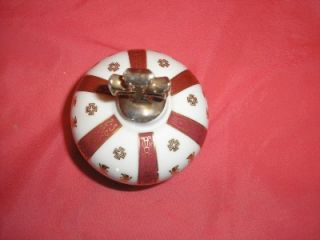 French Sempe Limoges Crown Cognac Armagnac Bottle Cross Stopper