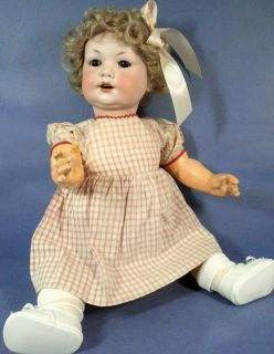 ARMAND MARSEILLE ANTIQUE DOLL 971 CUTE CHARACTER BABY TODDLER
