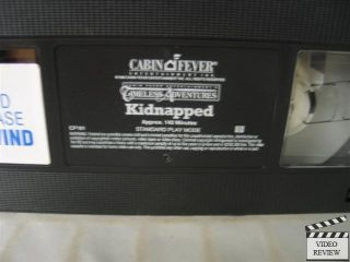 Kidnapped VHS Armand Assante Brian Mccardie 032621019130