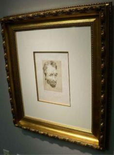 Salvador Dali Original Art Etching Van Gogh Hand Signed Artwork