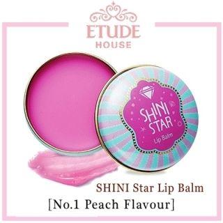 HOUSE SHINI STAR LIP BALM 1 Peach Flavour 9g k pop star shinee Onew