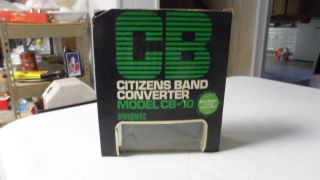 VINTAGE SPARKOMATIC CB CITIZENS BAND RADIO CONVERTER MODEL CB 10 NEW