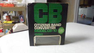 VINTAGE SPARKOMATIC CB CITIZENS BAND RADIO CONVERTER MODEL CB 10 NEW