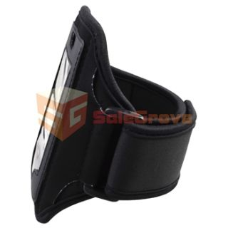 19 Accessory Pack Black Armband Case Holder Charger for Apple iPhone 4