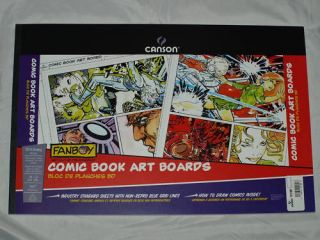 Canson Comic Book Art Boards 24 Sheets 250gsm
