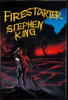 Stephen King Firestarter Signed Limited 1st Edition