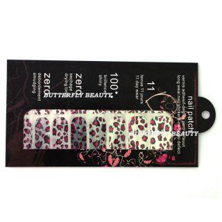 Nail Art Sticker Foils Patch Armour Manicure Decoration V124