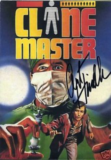 1978 The Clone Master on DVD Signed by Art Hindle New