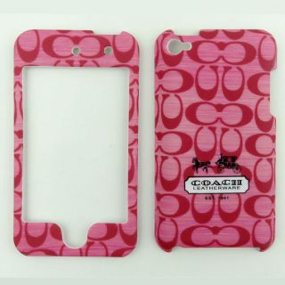 Hot Pink HN6 Hard Case Faceplate Cover for Apple iPod Touch 4th