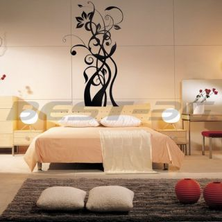 Flower Floral Kids Window Home Art Wall Paper Mural Decal Sticker