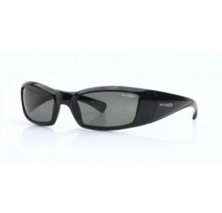 e3d9f6edaf ... Arnette Rage Italian Sunglasses 4025 41 81 Glossy Black with Grey ...