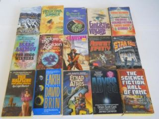 Science Fiction Fantasy Paperback Books~ Arthur C Clarke ~ Alan Foster