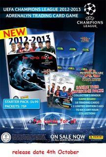 Panini Champions League 12 13 2012 2013 Adrenalyn Xl Sets Trading Card