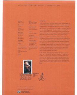 Marys Stamp Place 0518 37c Arthur Ashe Tennis Star 3936 Souvenir Page