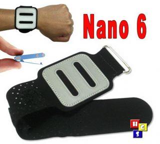 Apple iPod Nano 3 Armband Strap Holder Arm Band Black